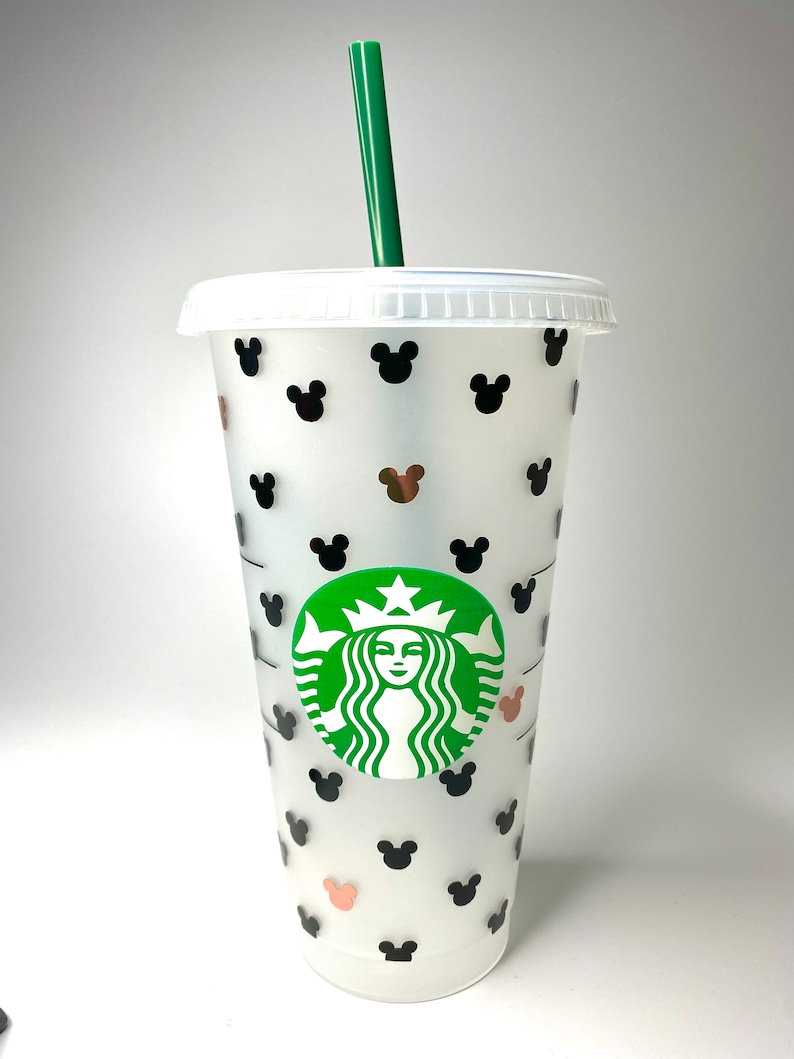 Personalized Mickey Mouse Disney Starbucks Cup