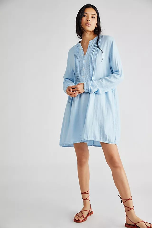 Blue house dress