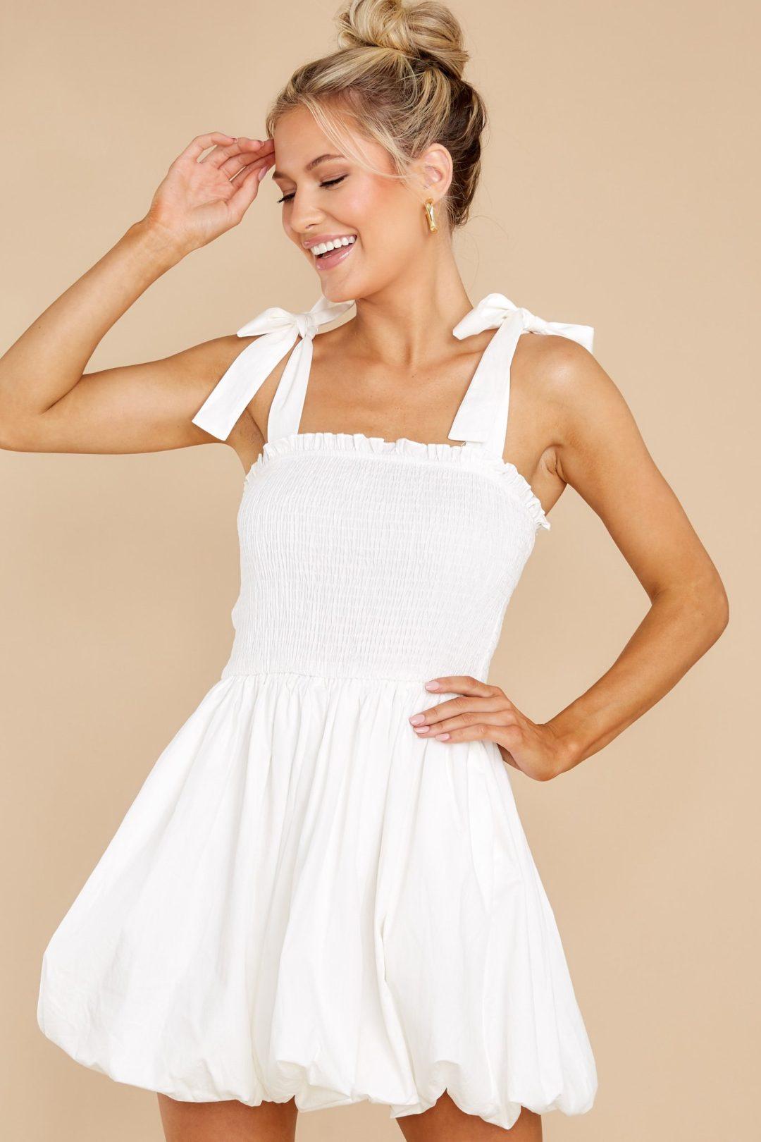 40+ White Summer Dresses That Will Leave You Feeling Like A Goddess