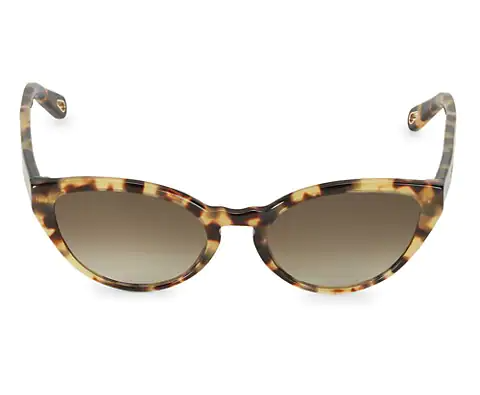 Chloe Willow Cat Eye Sunglasses with pattern