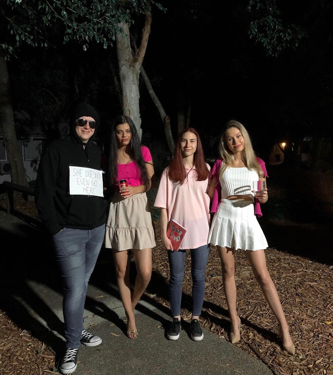 Mean Girls for Best Halloween Costumes for 4