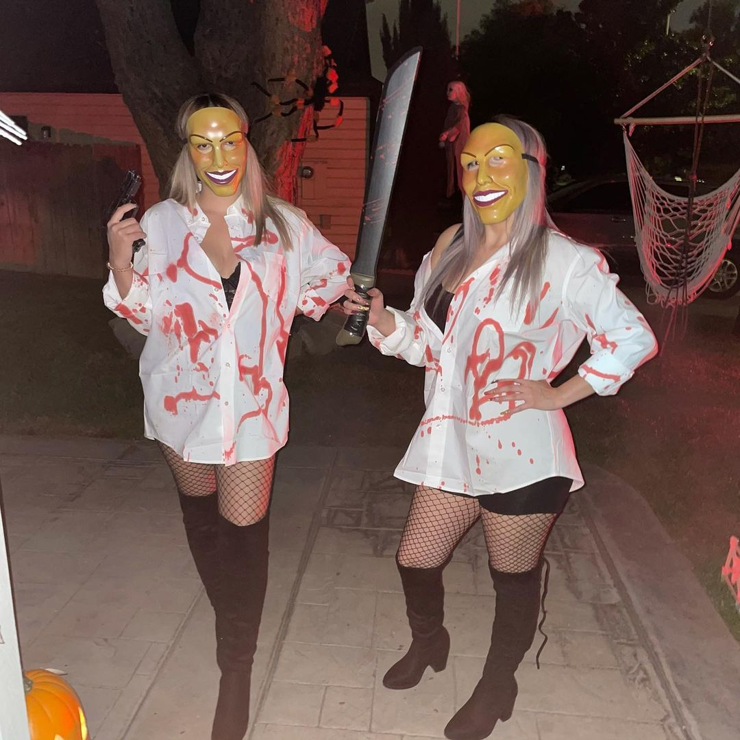 Purge Night for Best Halloween Costumes for Best Friends