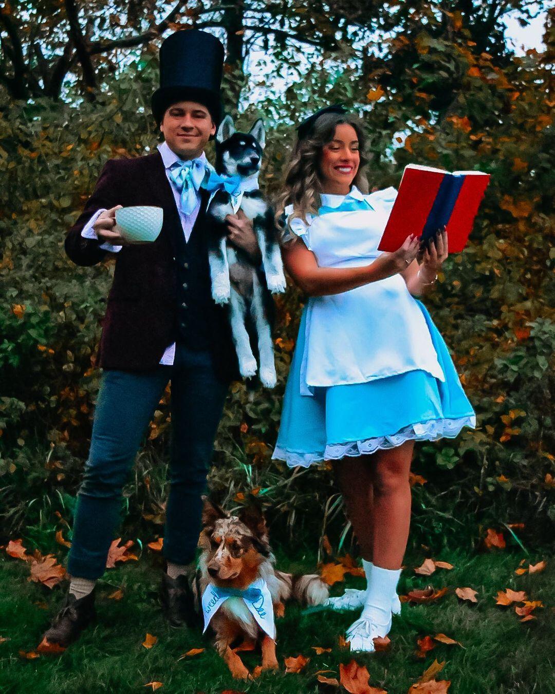 Alice in Wonderland for Best Trio Halloween Costumes