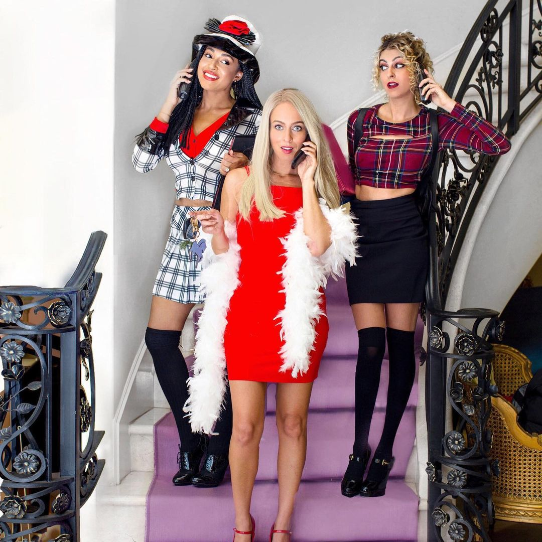 Clueless for Best Trio Halloween Costumes