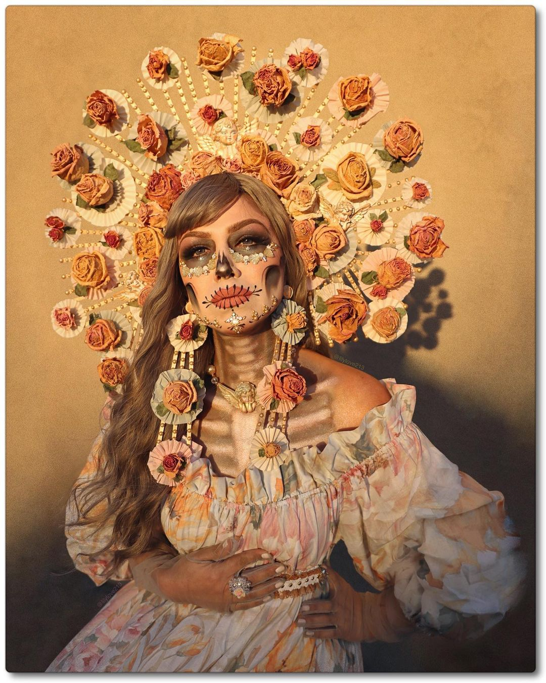 25 Deathly Stunning Day Of The Dead Makeup Ideas