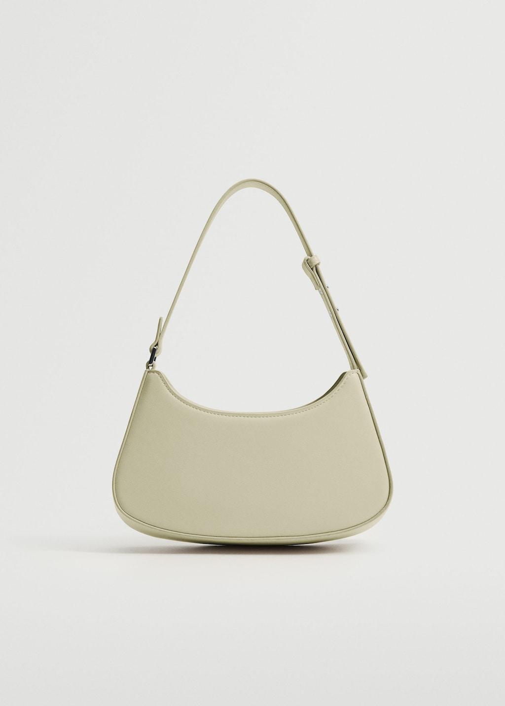 Baguette Bag in Aqua Green for best minimalist purses