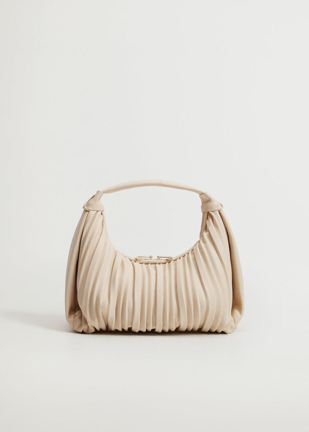 Pleats Baguette Bag for best minimalist purses