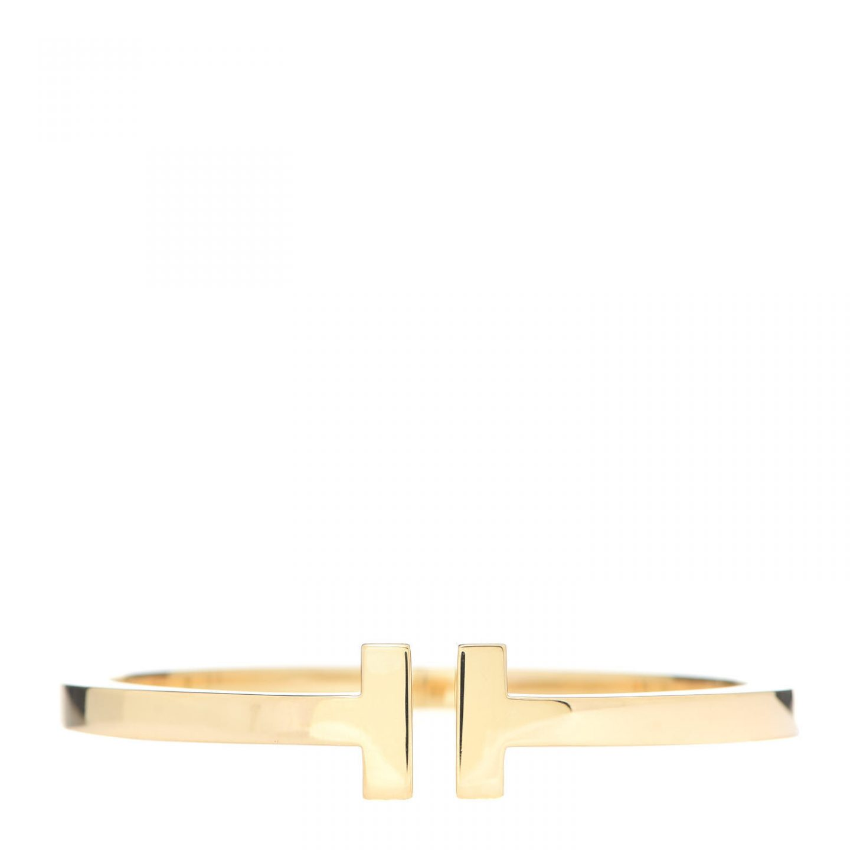 Tiffany Gold T-Square Bracelet for Cartier vs. Tiffany