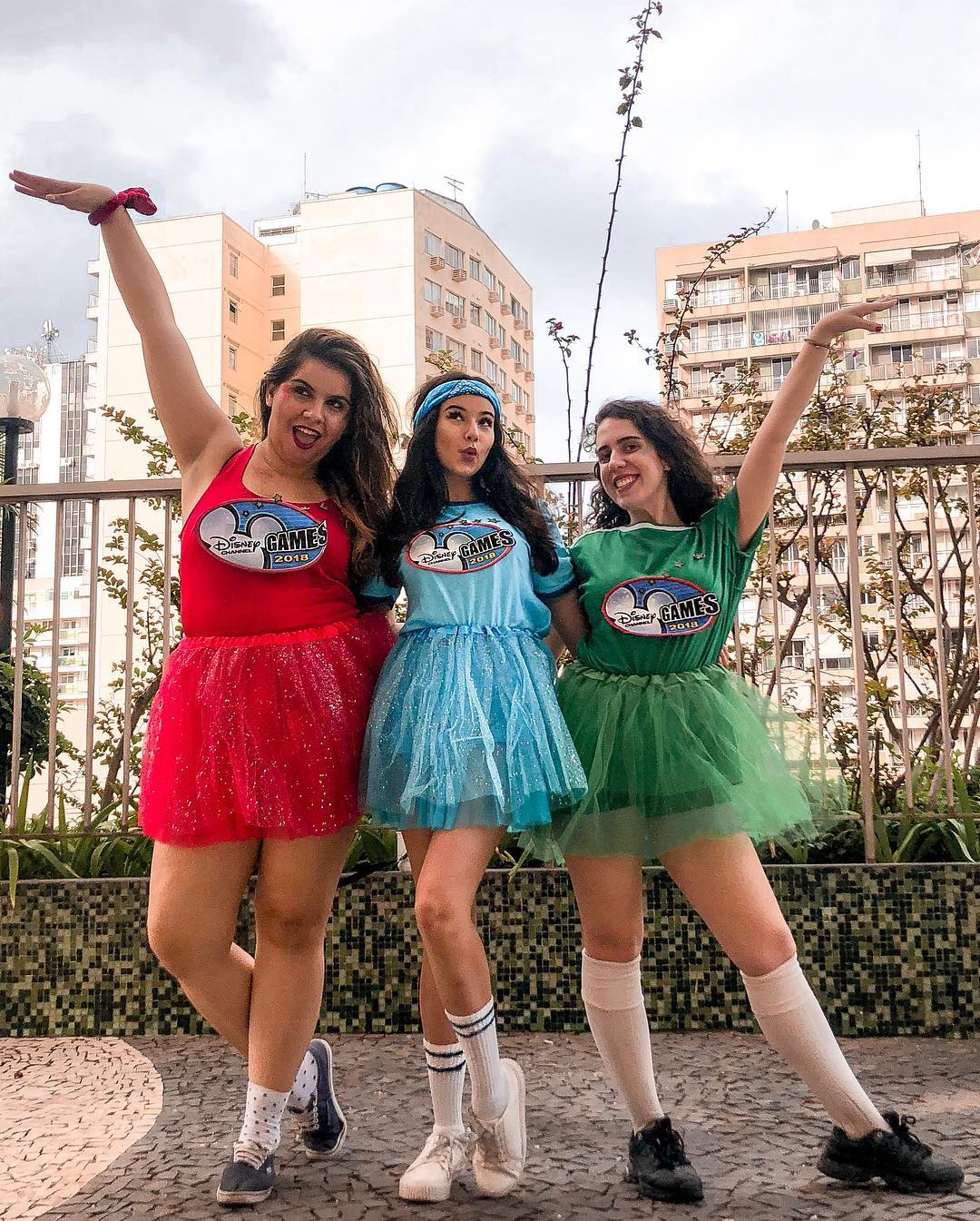 The Disney Channel Games for Best Trio Halloween Costumes