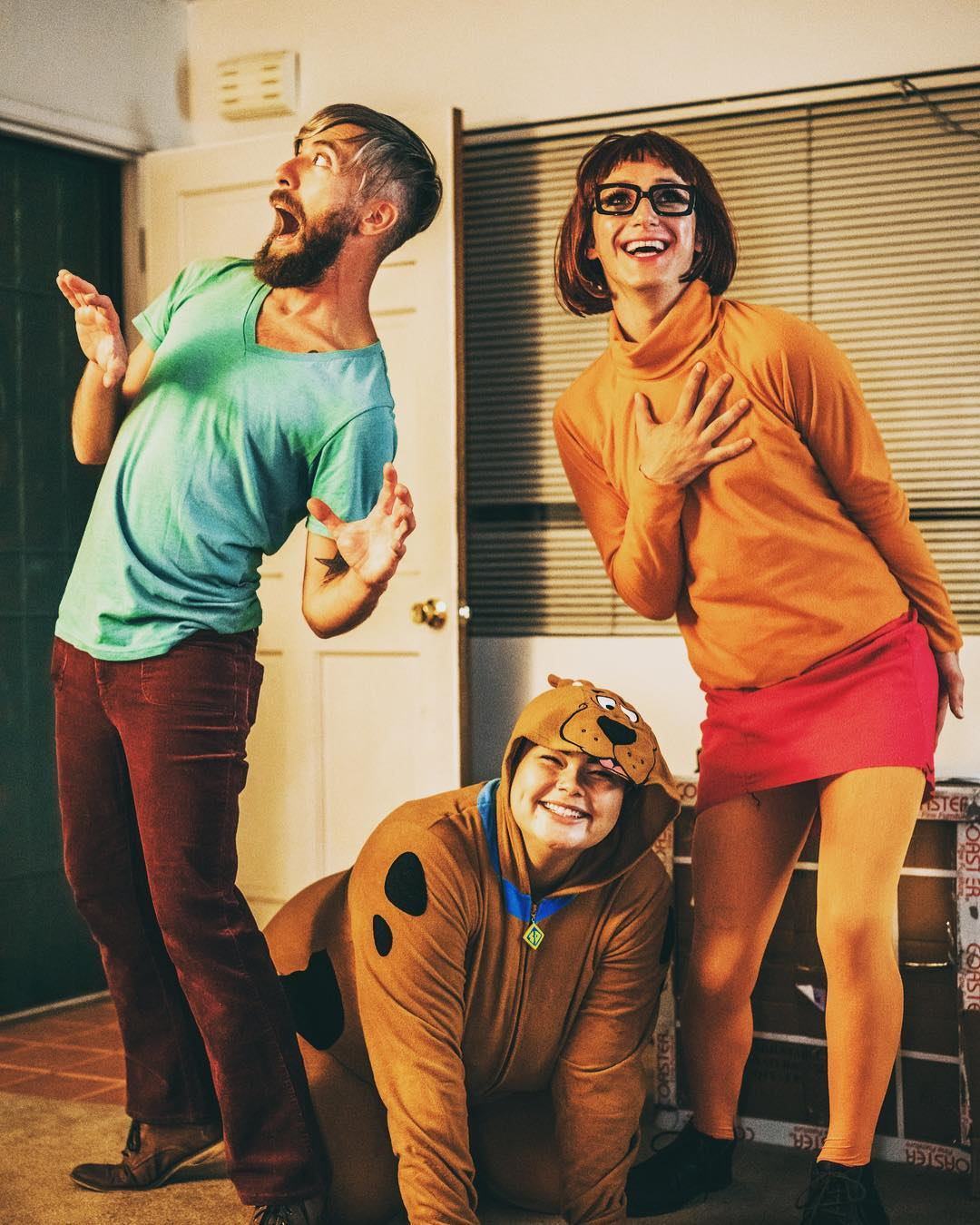 Scooby Doo & The Mystery Gang for Best Trio Halloween Costumes