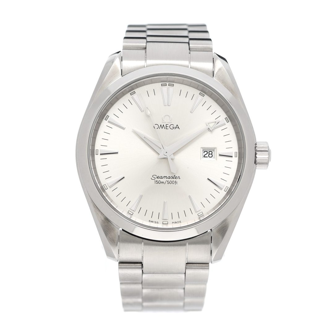 Omega Stainless Steel Seamaster Quartz Watch for Best Entry Level Luxury Watch