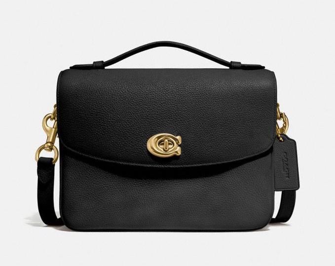Black Coach Cassie Crossbody Bag
