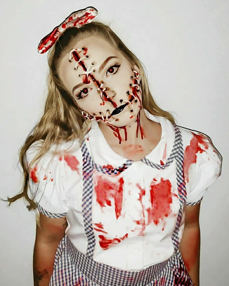 Stitches for Scary Halloween Costumes for Women
