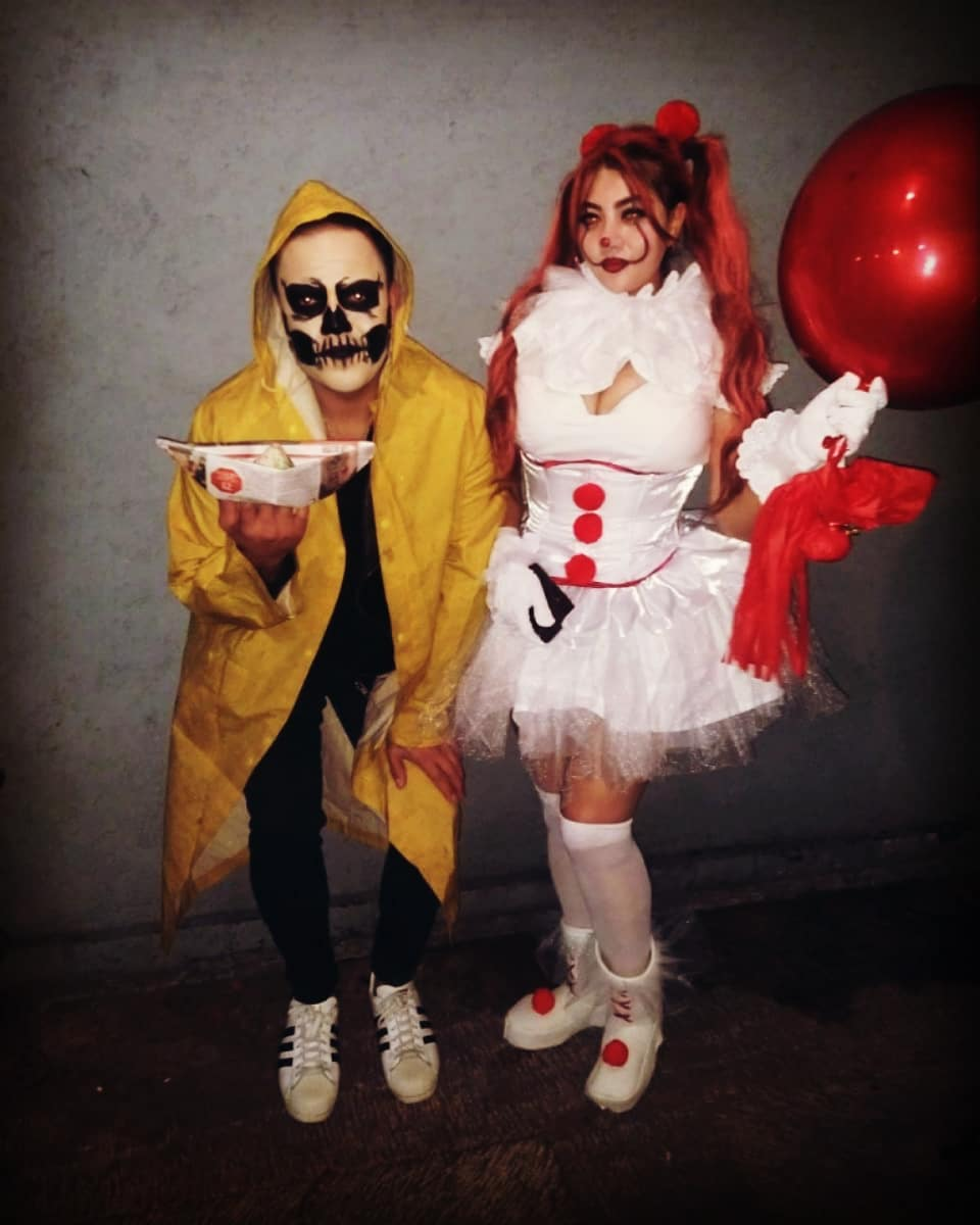 Georgie and It for Best Halloween Costumes for Best Friends