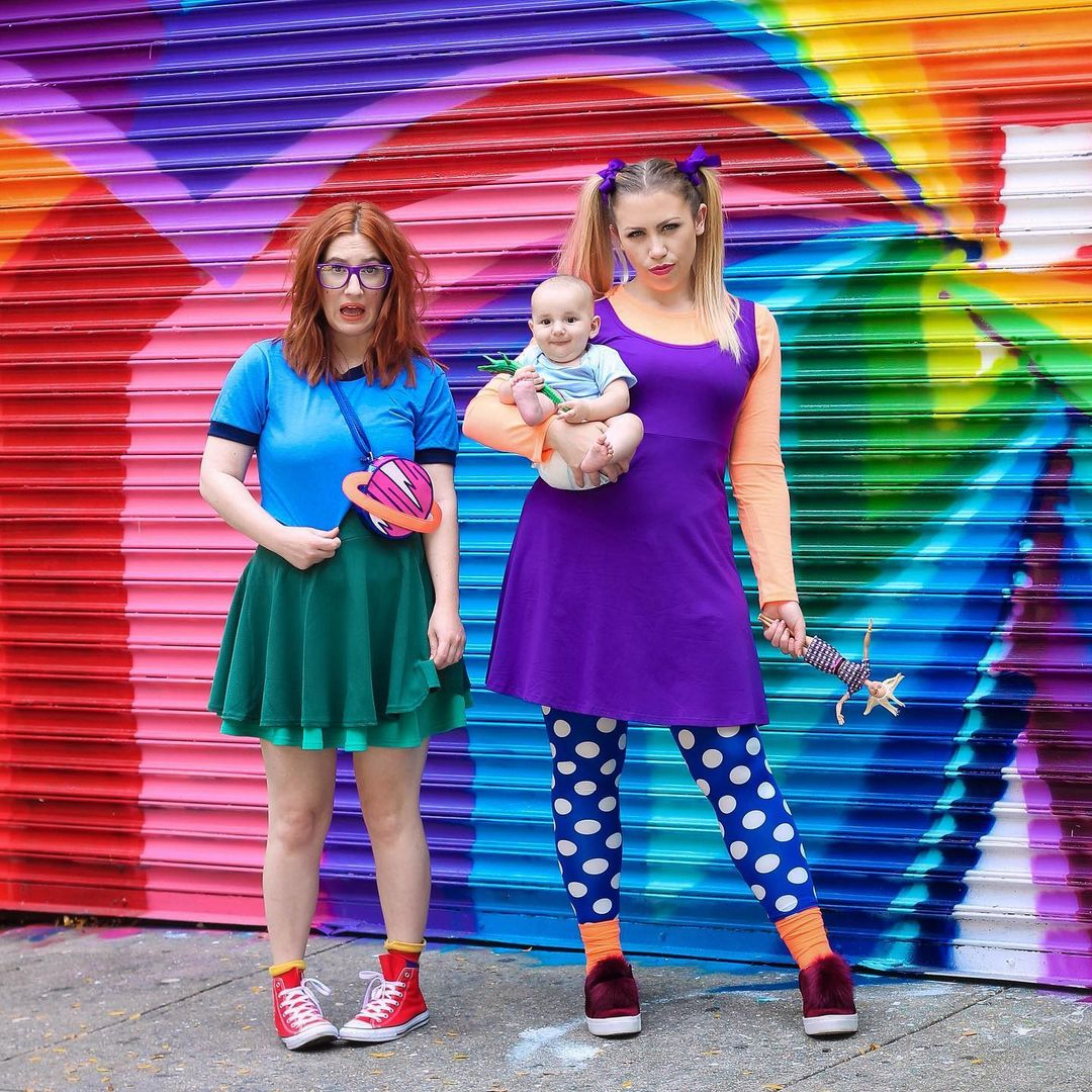The Rugrats for Best Trio Halloween Costumes