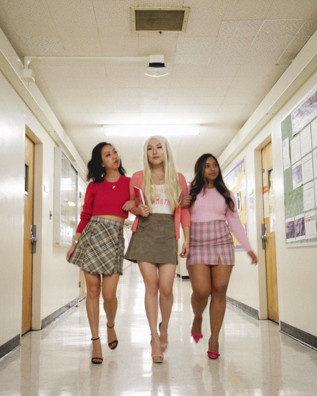 The Mean Girls for Best Trio Halloween Costumes