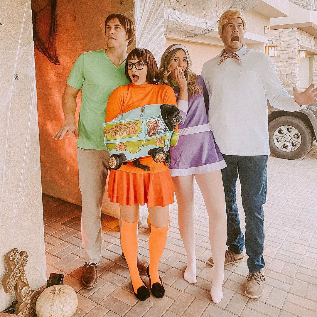 The Mystery Gang for Best Halloween Costumes for 4