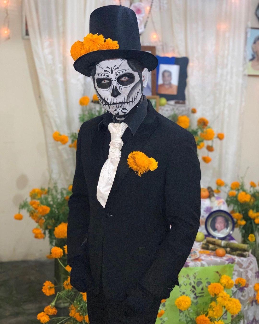 Sugar Skull for Best Halloween Costumes For Men