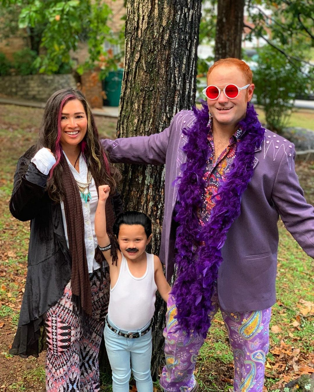 Musical legends for Best Trio Halloween Costumes