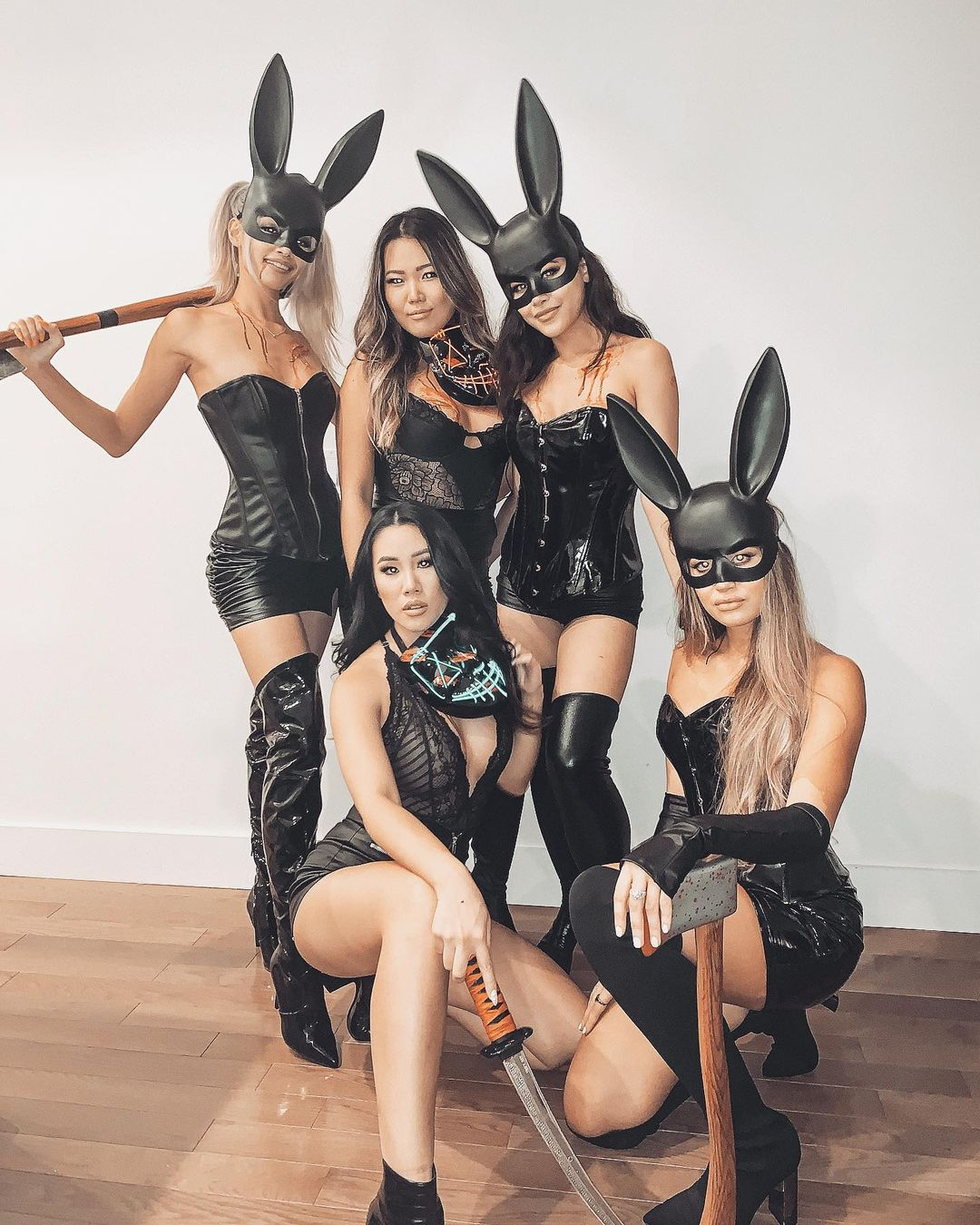 Playboy Purge for Best Halloween Costumes for 4