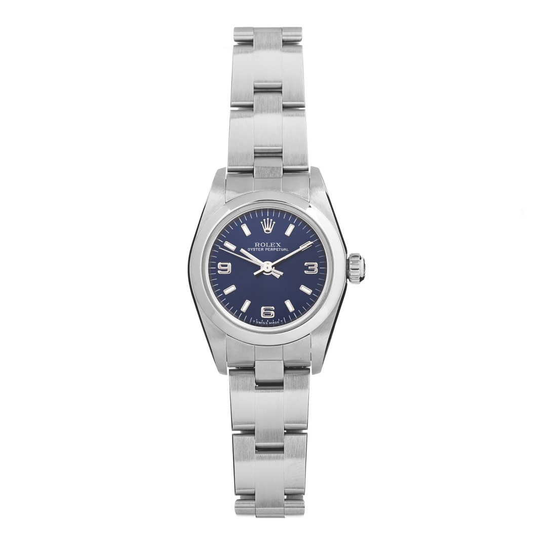 Rolex Oyster Perpetual Watch Blue for Best Entry Level Luxury Watch