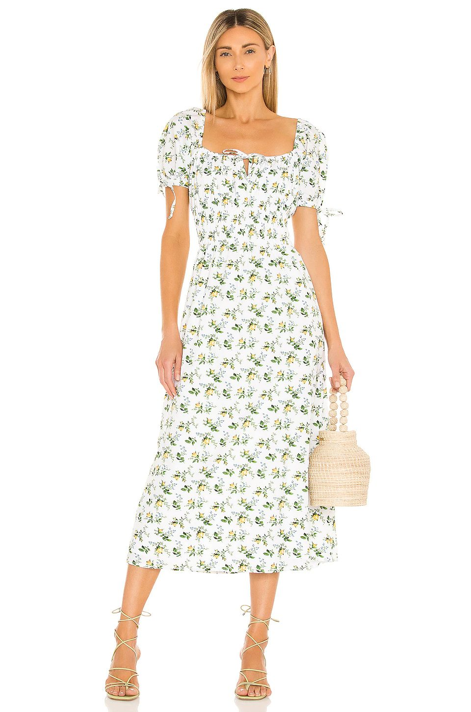 Cute floral dresses like Reformation from Faithfull the brand