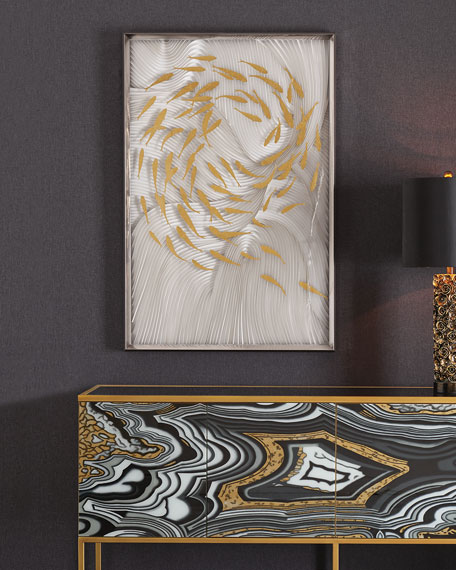 Decorative luxury wall art from Horchow