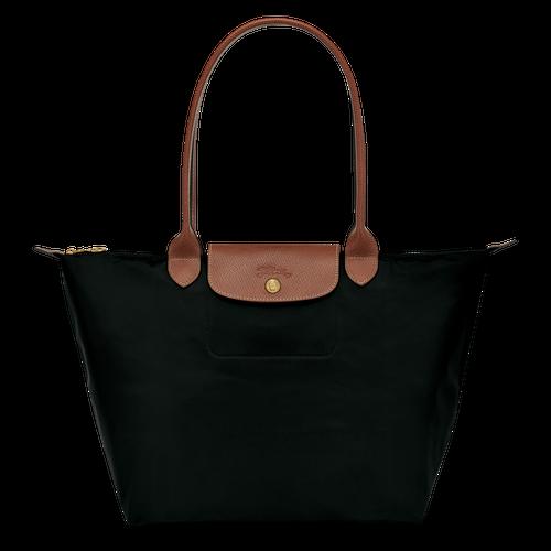 Longchamp Le Pliage shoulder bag in black
