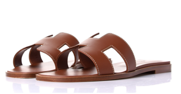 Hermes Oran Sandals in brown for best designer shoes to invest in