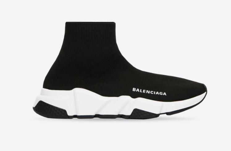 Balenciaga Speed Sneakers in black for best designer shoes to invest in