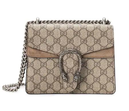 Gucci Dionysus Supreme Mini Bag for best designer bags under $2000