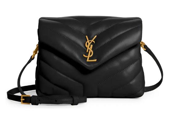 Saint Laurent Toy LOULOU Crossbody Bag in black for best designer bags under $2000