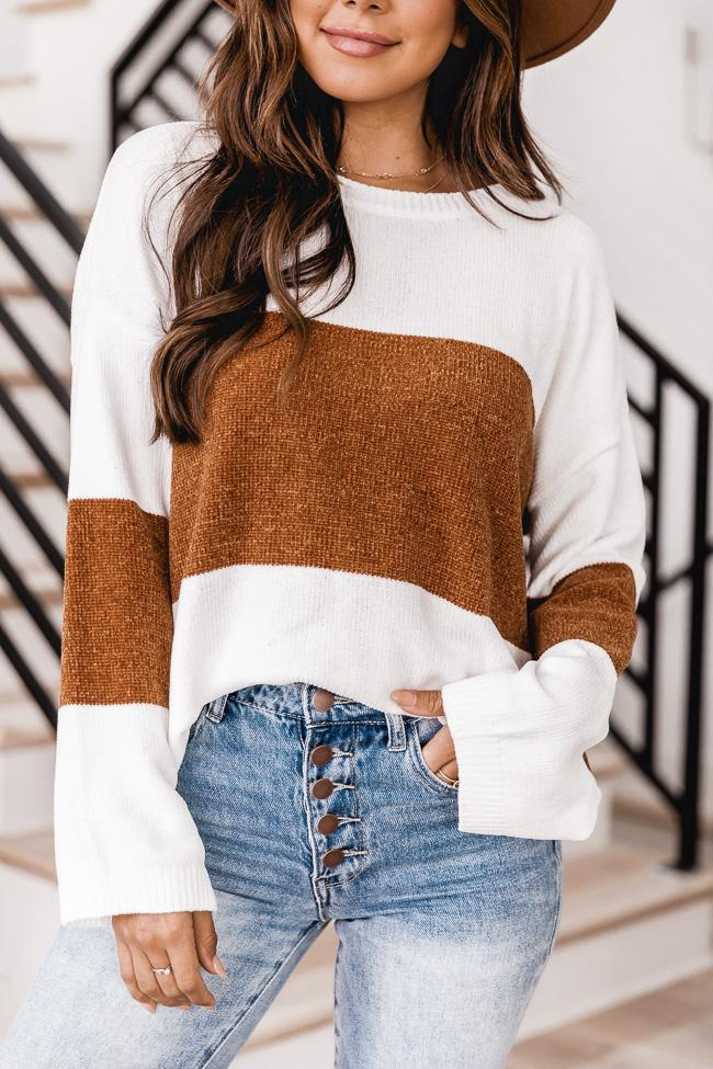 Cute fall outfit with sweater