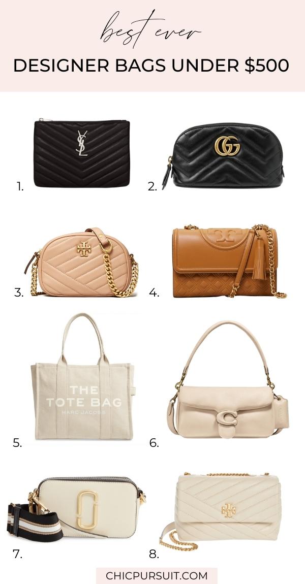 10 Best Designer Bags Under $500 Worth The Splurge