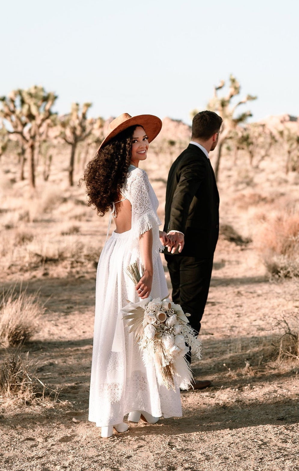 Affordable boho wedding dress under $300