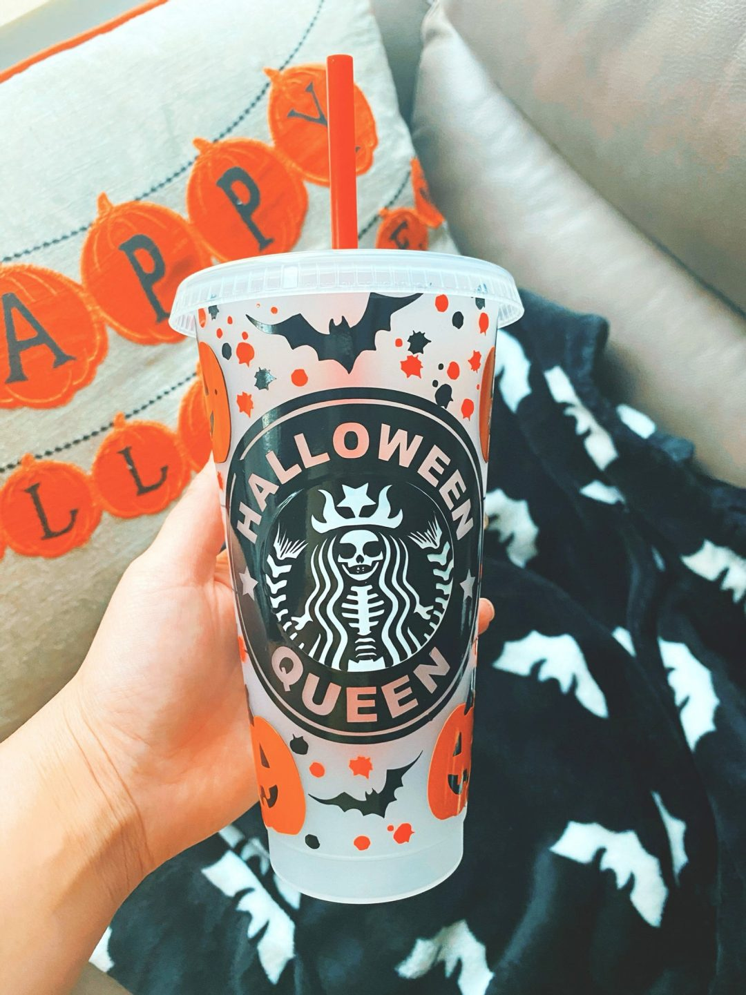 25 Spooky Customized Halloween Starbucks Cups To Get in 2021