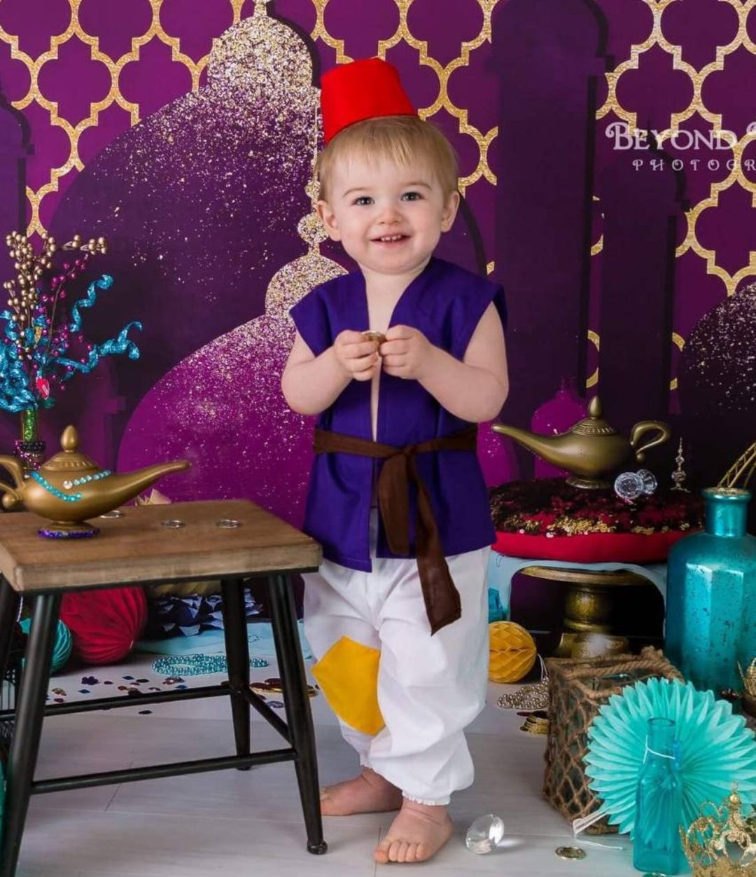 Prince Aladdin for Toddler Halloween Costumes