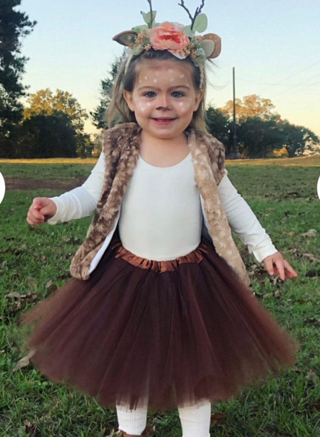 Baby Deer for Toddler Halloween Costumes