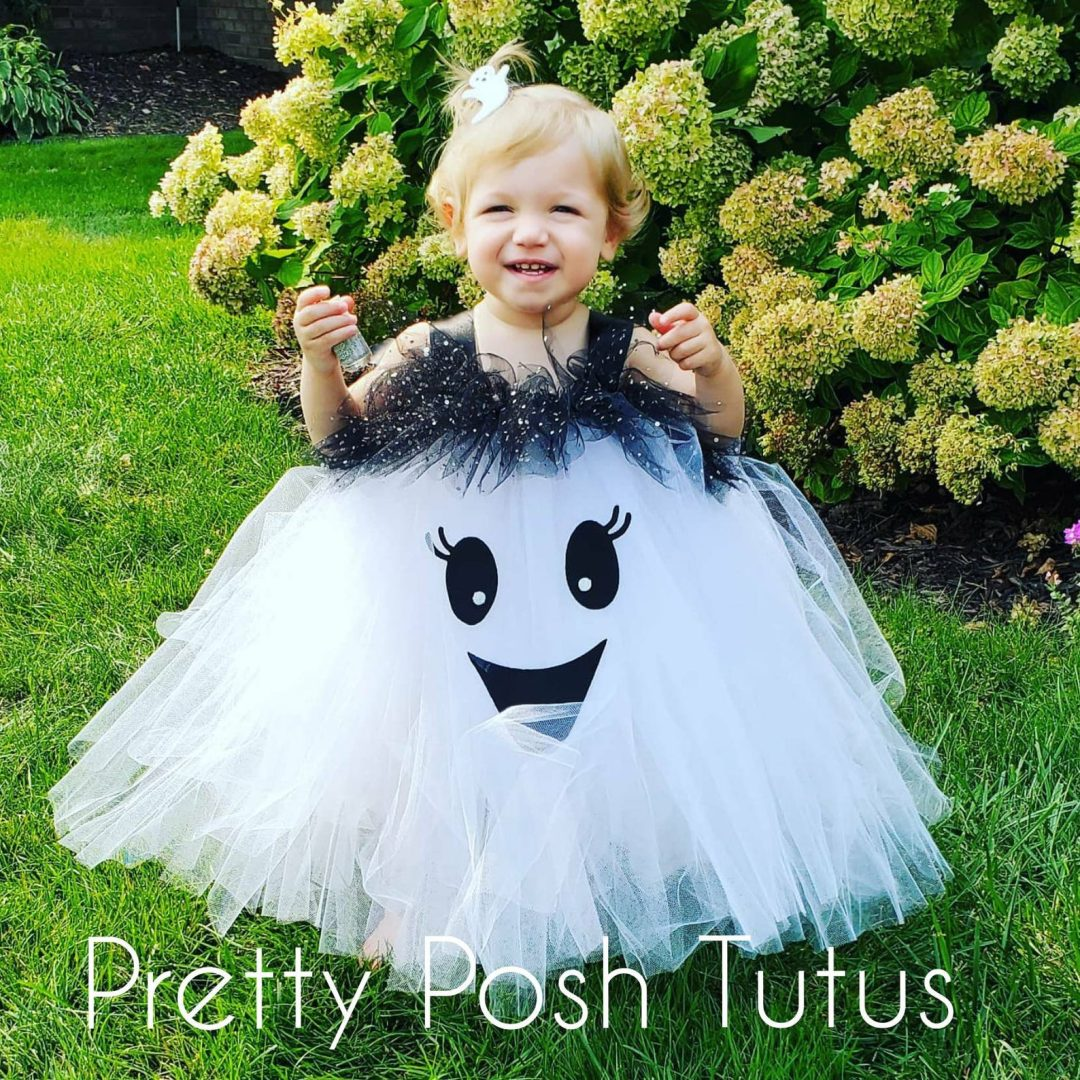 Boo baby tutu for Toddler Halloween Costumes