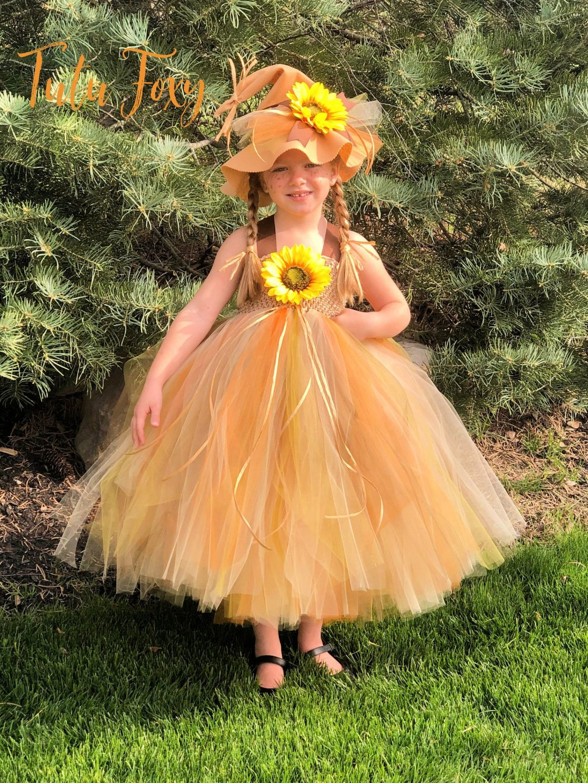 Scarecrow tutu for Toddler Halloween Costumes
