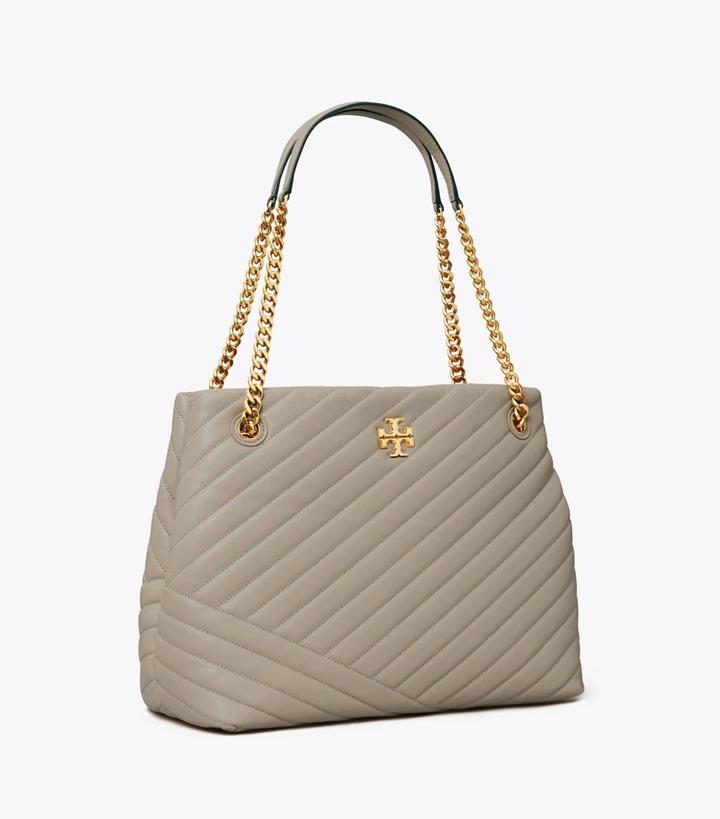 Best designer tote bags for travel: Tory Burch Kira