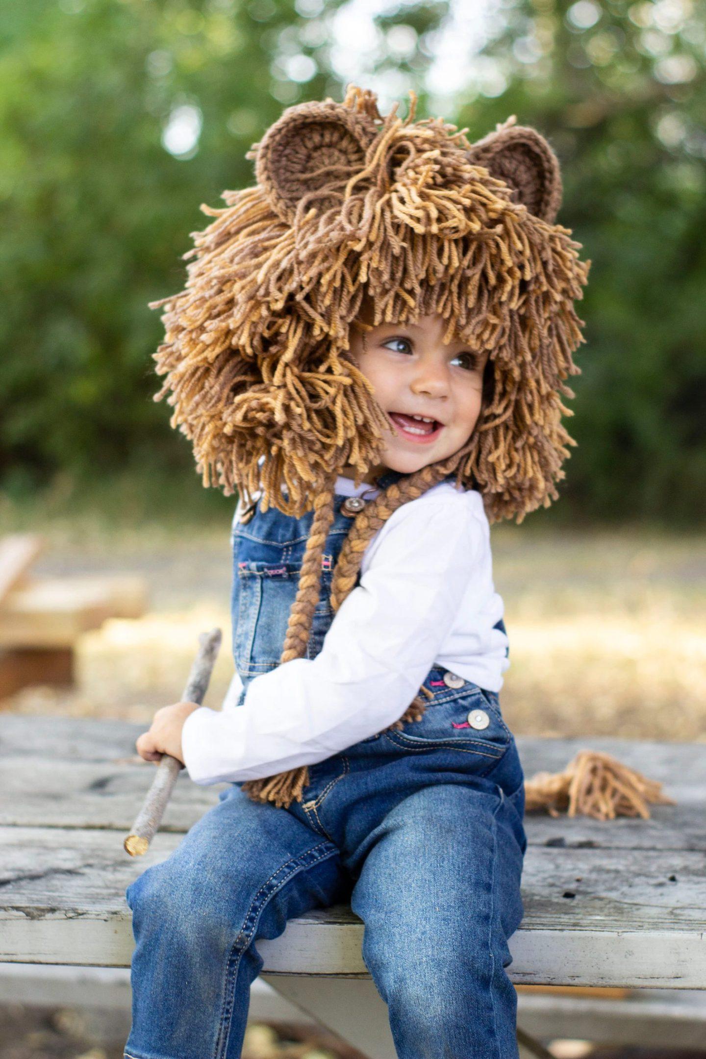 Toddler lion Halloween costume
