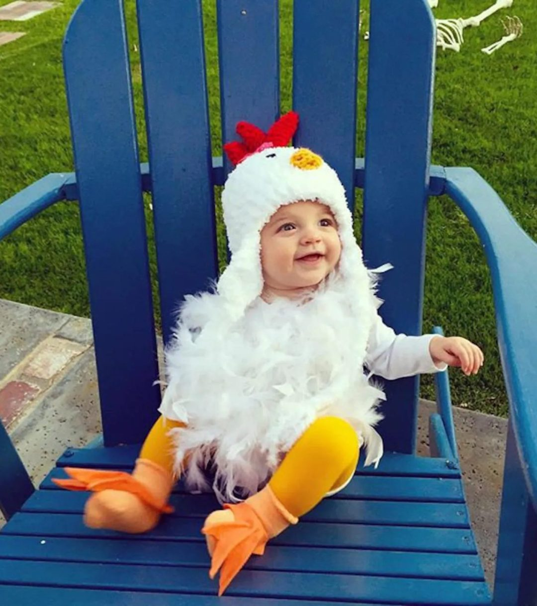 Chicken Halloween costume for toddlers