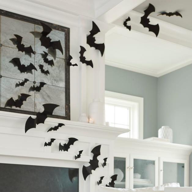 Black Felt Bats