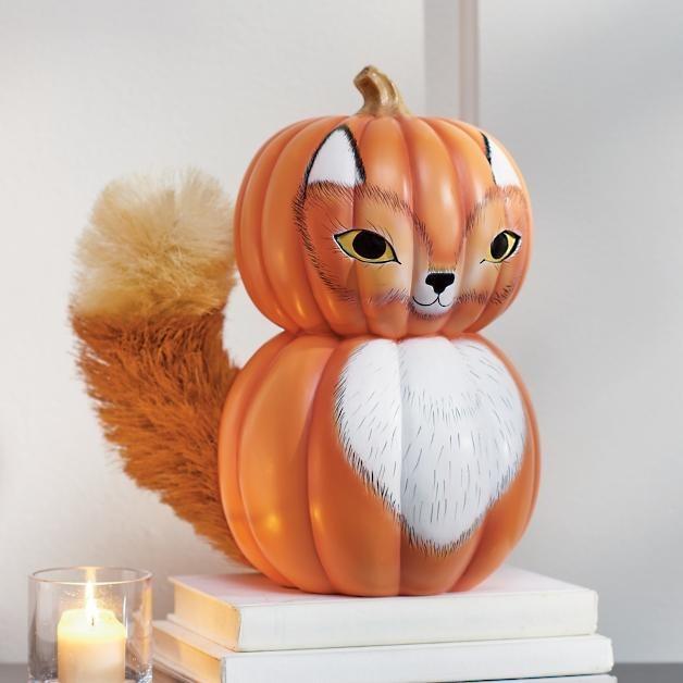 Woodland Pumpkin Fox