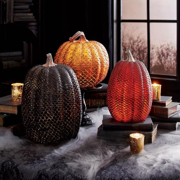 Dragon Scale Pumpkins