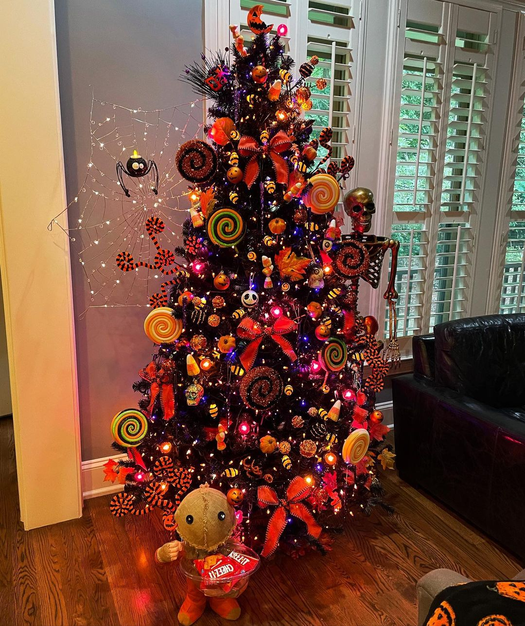 Trick Or Treat Tree by Mrs. Osterglam