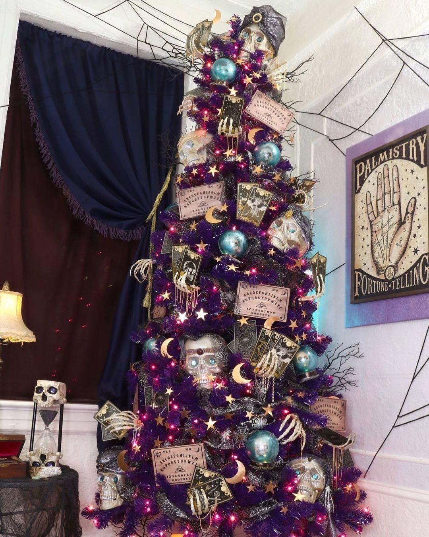 Ouija Board Halloween Tree