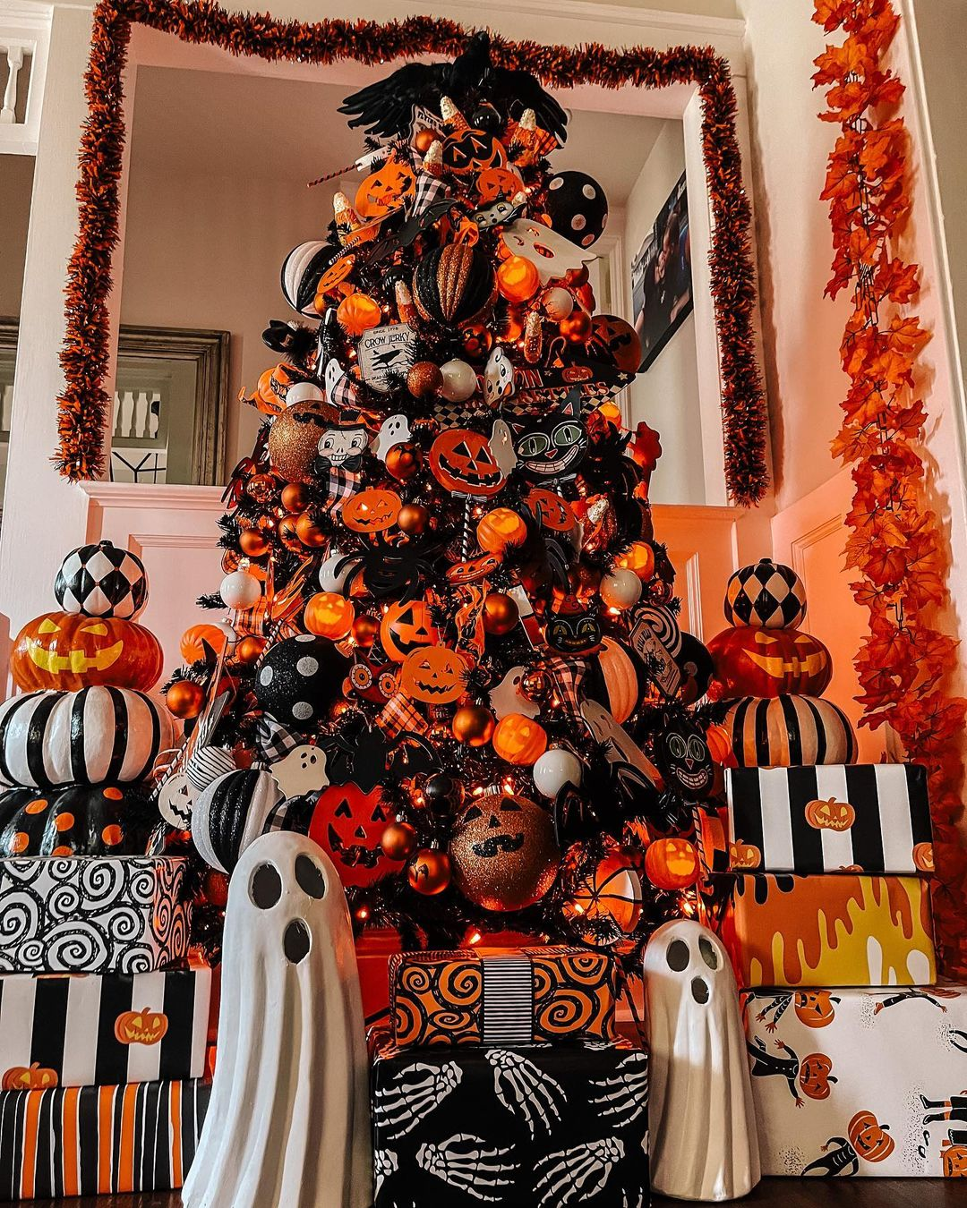 The Ultimate Spooky Tree by Rachael