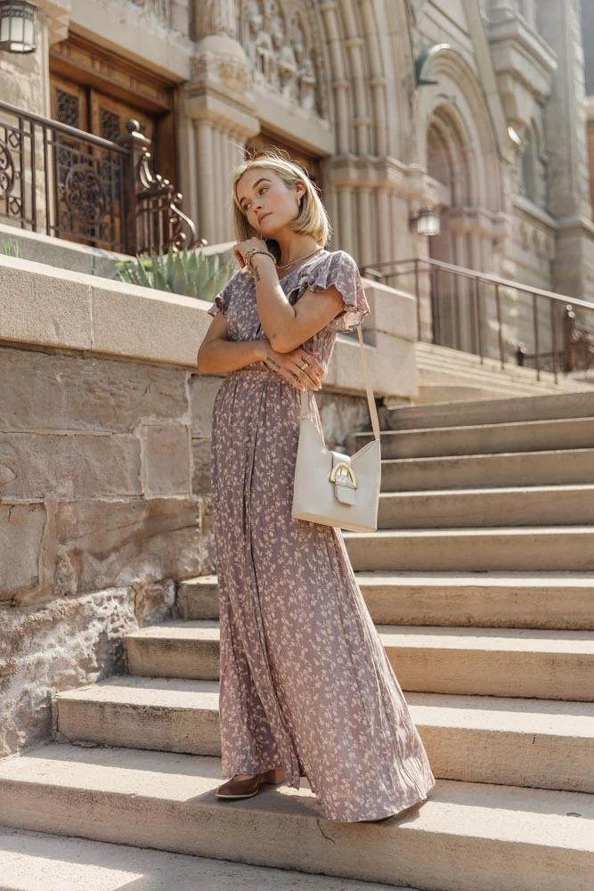 Boho Outfits: Maxi dress